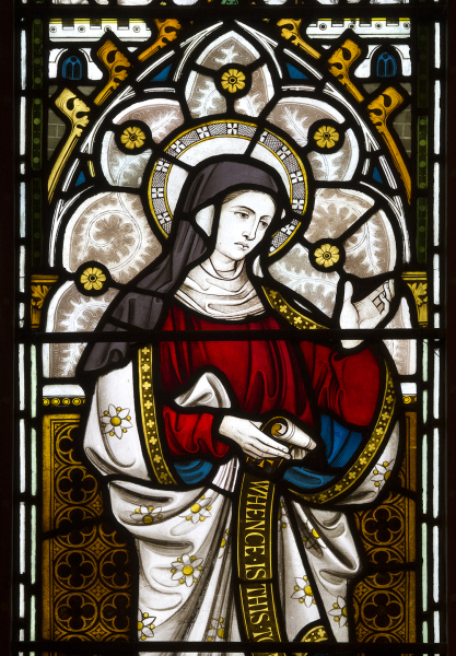 Elizabeth, Mother of John the Baptist : Clayton & Bell,  1874